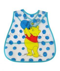 پیشبند ژله ای نوزاد با طرح پو