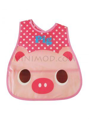 پیشبند ژله ای نوزاد با طرح خوک