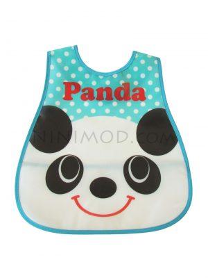 پیشبند ژله ای نوزاد با طرح پاندا Panda