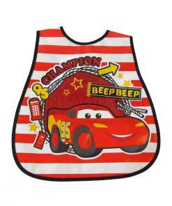 پیشبند ژله ای نوزاد با طرح ماشین Car