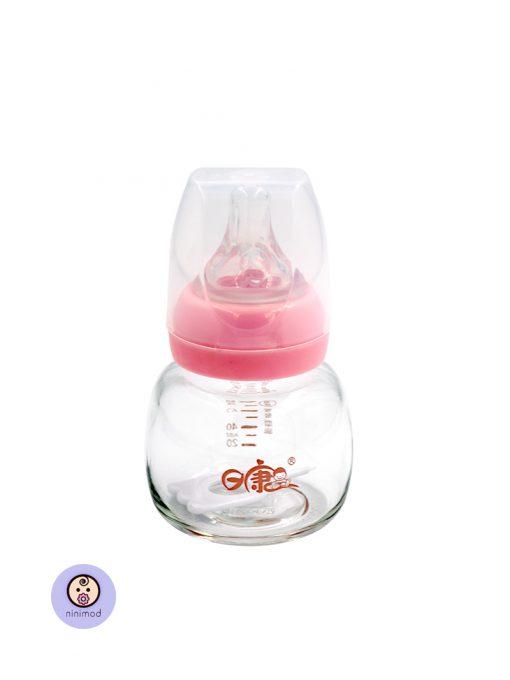 شیشه شیر شیشه ای قنداق خوری کودک و نوزاد