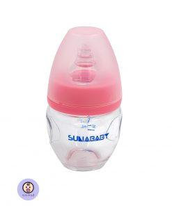 شیشه شیر شیشه ای کودک و نوزاد