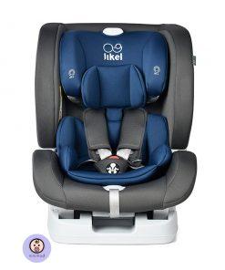 نمای رو به رو صندلی ماشین جیکل Jikel UpGO All In One رنگ آبی