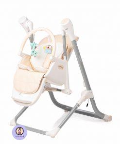 صندلی غذای کودک جیکل مدل کامفرت3 رنگ کرم
