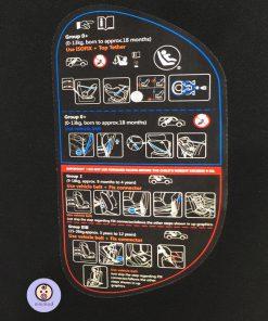 مشخصات صندلی ماشین بوربای