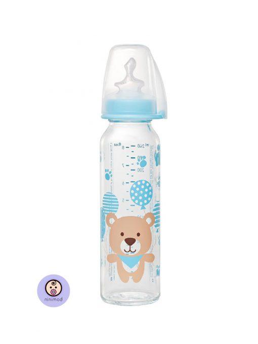شیشه شیر نیپ طرح خرس آبی