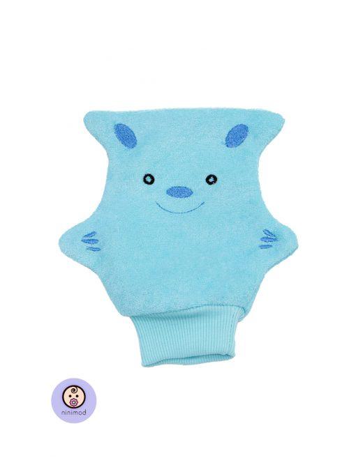 لیف حمام کودک و نوزاد رنگ آبی