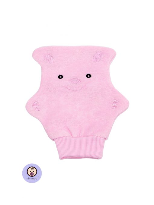 لیف حمام کودک و نوزاد رنگ صورتی
