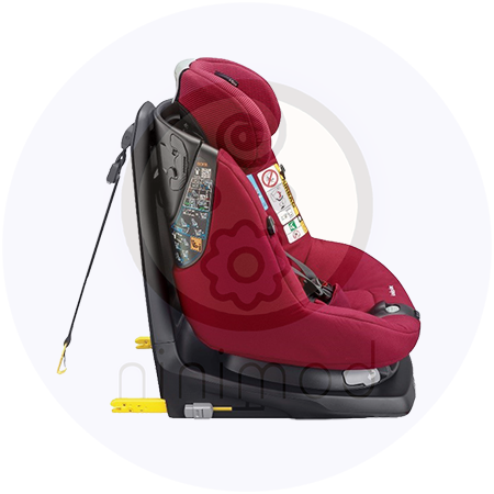 صندلی ماشین کودک با ISOFIX و Top Tether