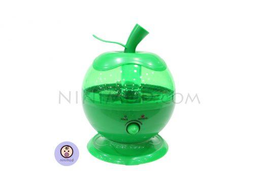 دستگاه بخور سرد طرح اپل رنگ سبز