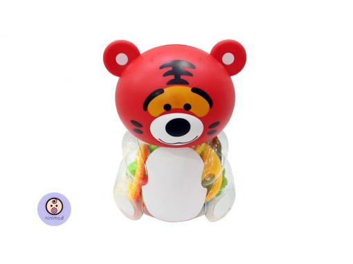 ست جغجغه طرح خرس قرمز