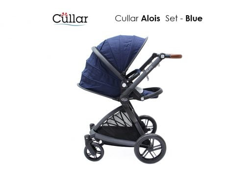 نمای بغل کالسکه نوزاد Cullar Alois