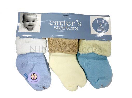 ست سه عددی جوارب نوزاد carters