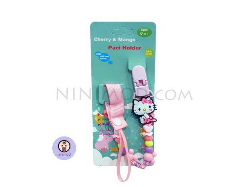 زنجیر پستانک Cherry & Mango طرح Hello Kitty