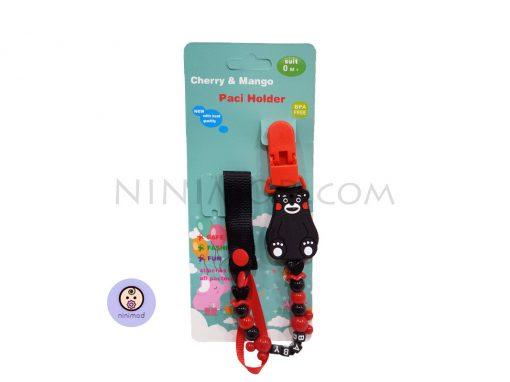 زنجیر پستانک Cherry & Mango طرح Panda