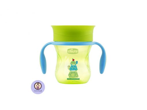 لیوان ۳۶۰ درجه Chicco رنگ سبز