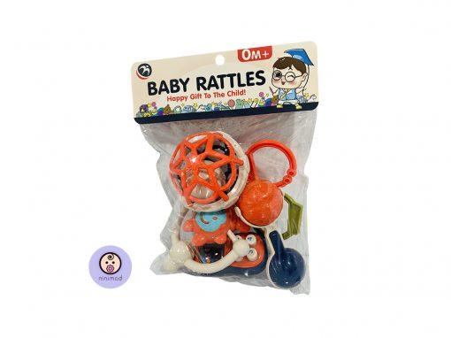 ست جغجغه 5 عددی baby rattles